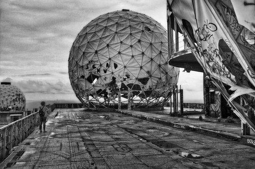 Berlin, Interception Station, Teufelsberg