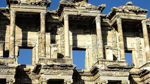 Ruin, Antique, Architecture, Ephesus, World Heritage
