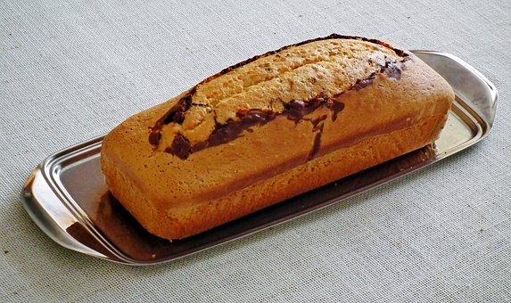 Cake, His Grandmother, Eating, Food, Pastries, Sweet