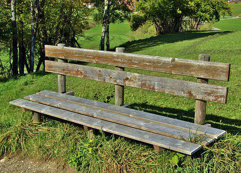 Bank, Resting Place, Nature, Wood, Trail, Rest, Bench