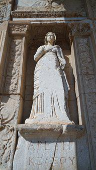 Hilt, Turkey, Statue, The Ruins Of The, Antiquity