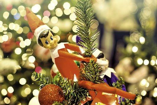 Elf, Elf On A Shelf, Christmas, Ornament, Decoration