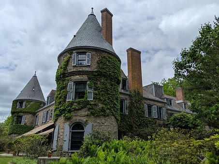 Grey Towers, Milford, Mansion, Pennsylvania, Landmark