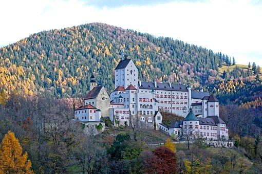 Castle, Hohenaschau, Height Burg, Bavaria