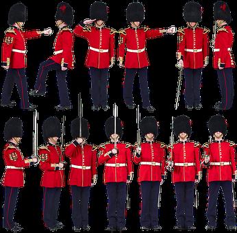 Royal Guardsman, Uniforms, England, London, Security