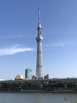 Sumida Park, Tokyo Sky Tree, Television Tower