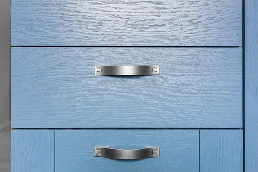 Kitchen, Box, Interior, Pen, Design, Blue, Tree