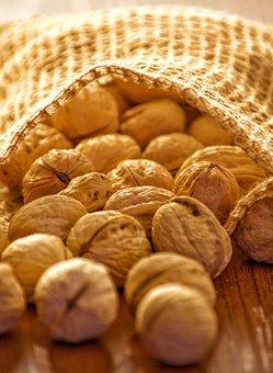 Walnuts, Nuts, Christmas, Christmas Time, Deco, Food