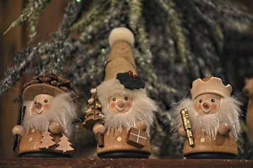 Figures, Advent, Christmas, Imp, Christmas Time, Winter