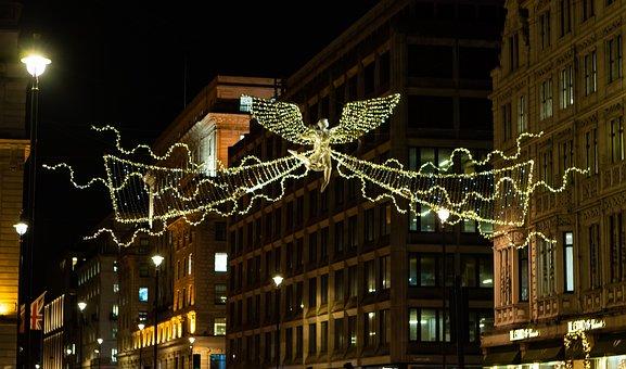 Bond Street, London Lights, Street Lights, Decoration
