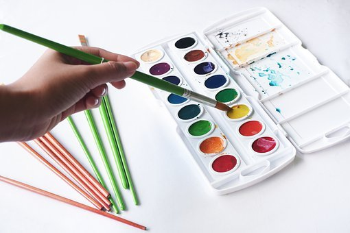 Paint, Watercolor, Colorful, Hand, Painting, Artist