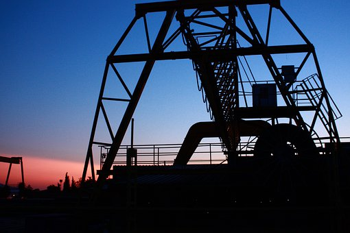 Industry, Business Machine, Silhouette, The Work