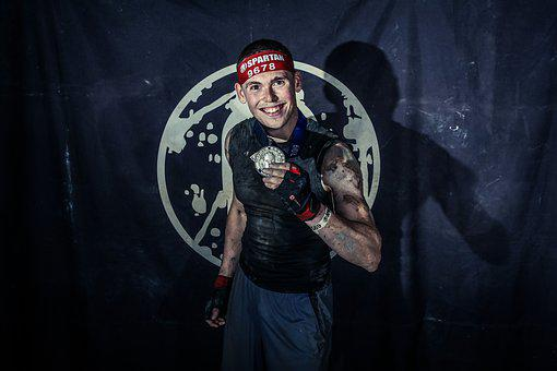 Spartan, Young Man, Ocr, Obstacle Course Racing