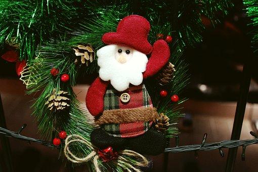 Santa Claus, Christmas, Parties, End Of The Year, Noel