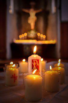 Candle, Light, Commemorate, Dead Sunday, Candlelight