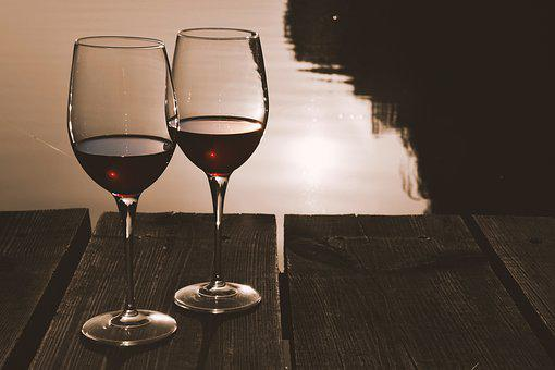 Romanticism, In Conjunction With The, Glass, Red Wine