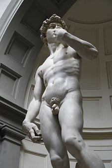 David, Miguel Angel, Statue, Florence, Revival