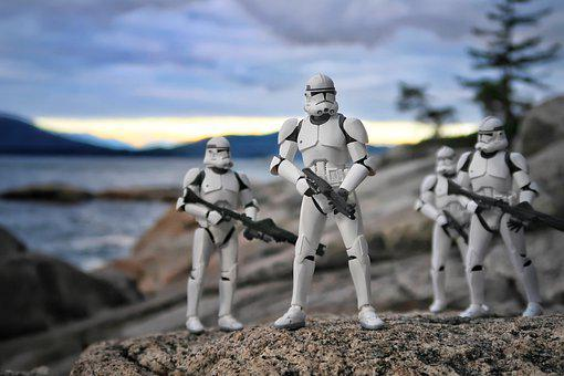 Storm Troopers, Patrol, Action Figure, Toys, Star Wars
