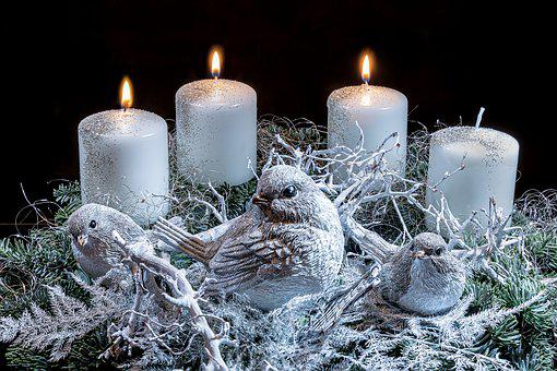Advent Wreath, Third Advent, Third Candle, Advent