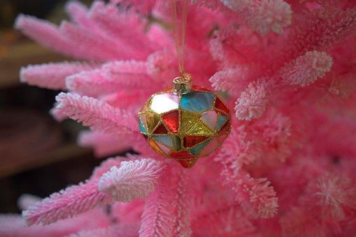 Fir Tree, Christmas, Bauble, Christmas Eve