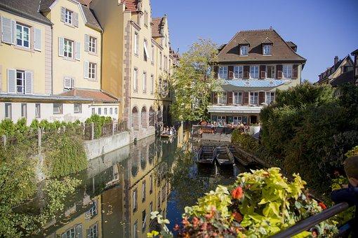 Little Venice, Colmar, Alsace, House, Architecture