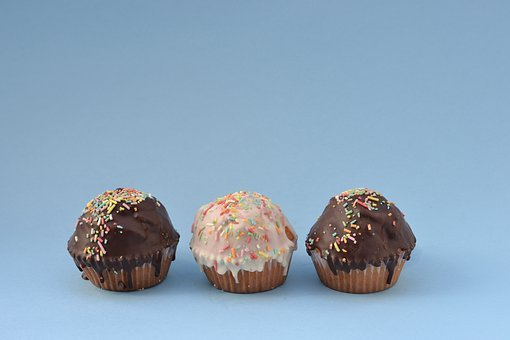 Cupcakes, Food, Dessert, Sweet, Magdalena, Cakes