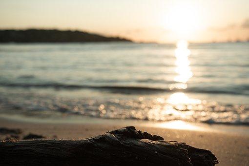 Sun, Sea, Corsica, Sunrise, Landscape, Beach, Water