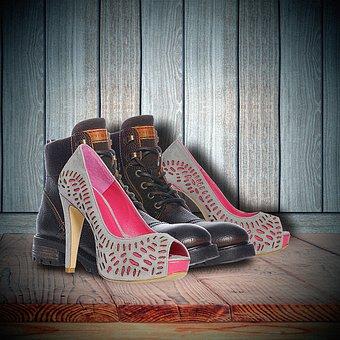 Shoe, Still Life, Man-woman, Schoenenpaar, High Heels