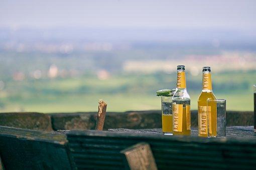Table, Drink, View, Beer Garden, Lemonade, Refreshment