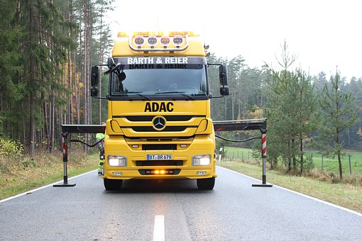 Adac, Towing, Towing Service, Accident