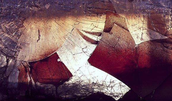Shards Bring Luck, Graffiti, Vandalism, Glass Breakage
