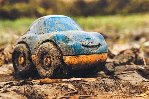 Toy, Machine, Auto, Robot, Mock Up, Vehicle, Toys, Old