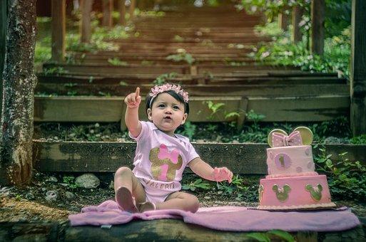 Girl, Children, Playing, Portrait, Child, Beautiful