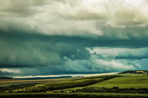 Timeline, Rain, Cloud, Storm, Time, Clouds, Lightning