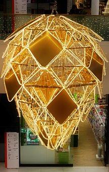 Decor, Artistic, Art, Ornaments, Lights, Design