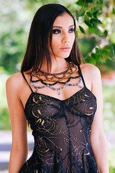 Model, Accessories, Fashion, Female, Brunette