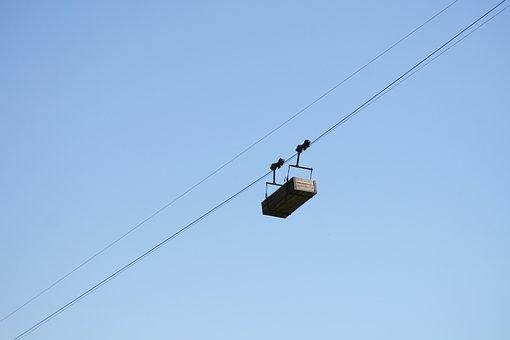 Cable Car, Gondola, Traffic, Mountains, Austria