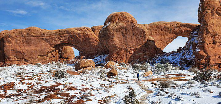Arches, Arches National Park, North Window