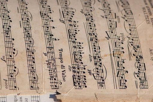 Note, Tonality, Library, Notenblatt, Melody