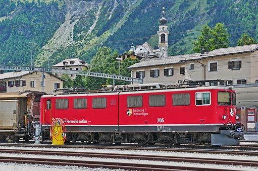 Rhaetian Railways, Goods Train Locomotive