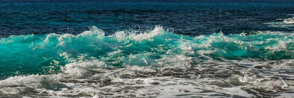 Wave, Surf, Sea, Water, Nature, Spray, Splash, Foam