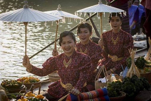 Thai, Woman, Thailand, Girl, Asia, Model, Female, Asian