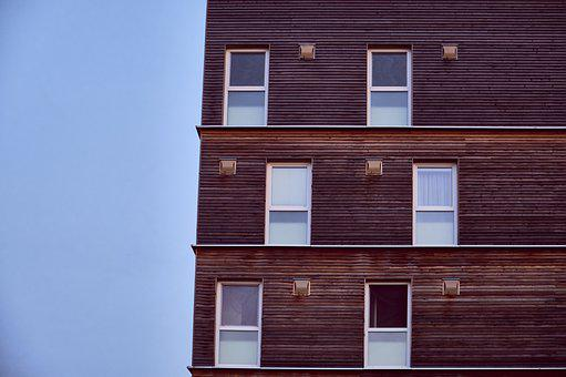 House, Modern, Uniform, Window, Architecture, Building