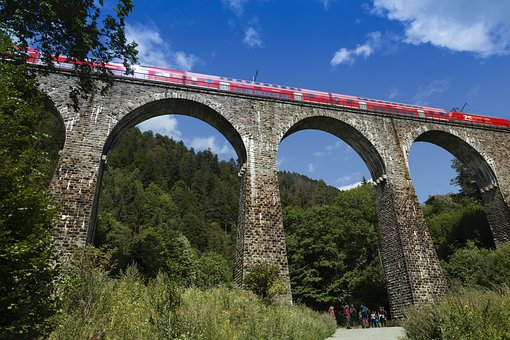 Ravennaschlucht, Viadukt, Höllental, Bahn, Ravenna