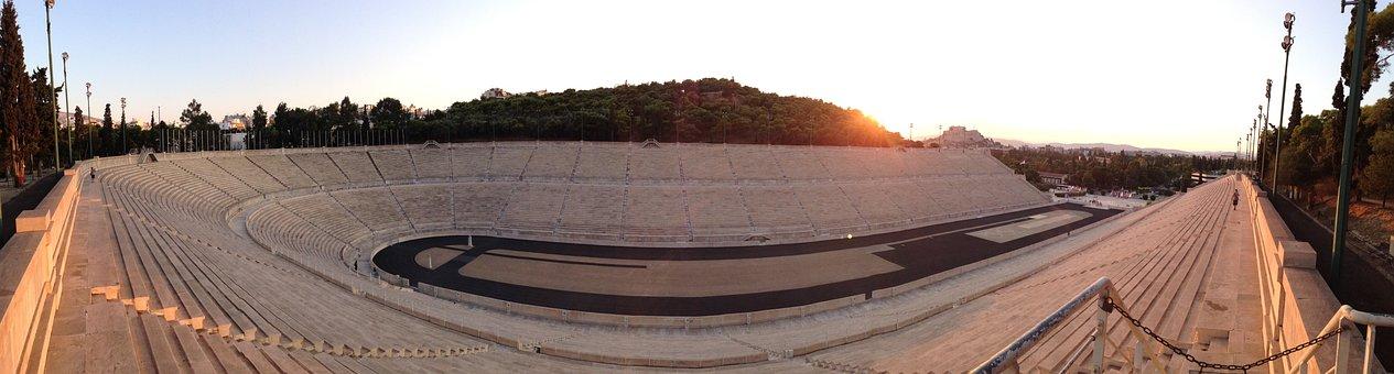 Olympic, Stadium, Athens, Greece, Architecture