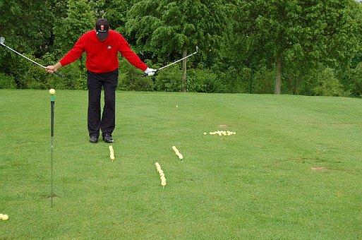 Golfer, Golf, Artistry, Sport, Golf Clubs, Golf Balls