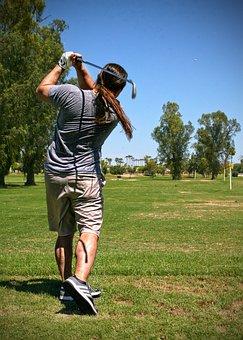 Golf, Sport, Ball, Man, Person, Club, Golfing, Leisure