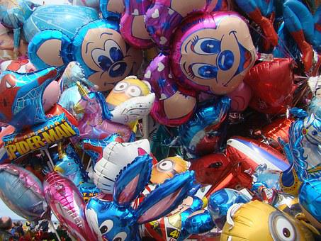 Balloons, Multicolor, Fly, Inflatable, Festival