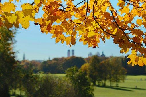 Munich, English Garden, Bavaria, Park