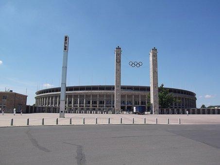 Olympic Stadium, Olympiad, Berlin, Sport, Sports